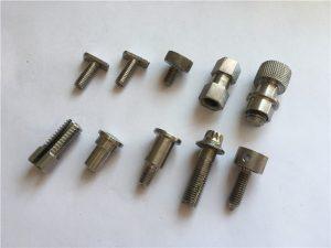 მაღალი სიზუსტის არასტანდარტული ხრახნი, უჟანგავი ფოლადის cnc machining screw
