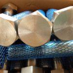 დიდი მიწოდების მექანიკური შესაკრავები მაღალი საყურე მძიმე hex bolt და თხილის